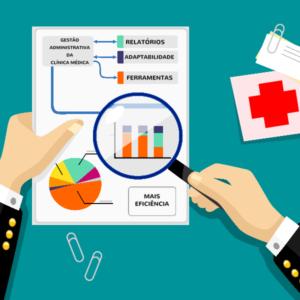 gestao administrativa da clinica medica -faça com o Clinicweb