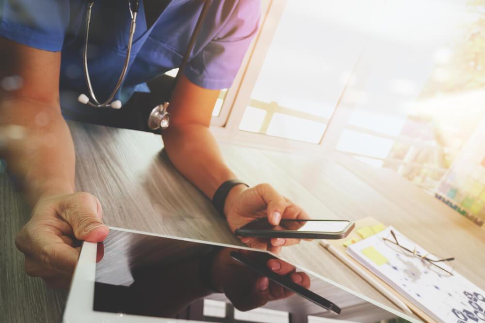 tecnologia em saúde facilita rotina do medico